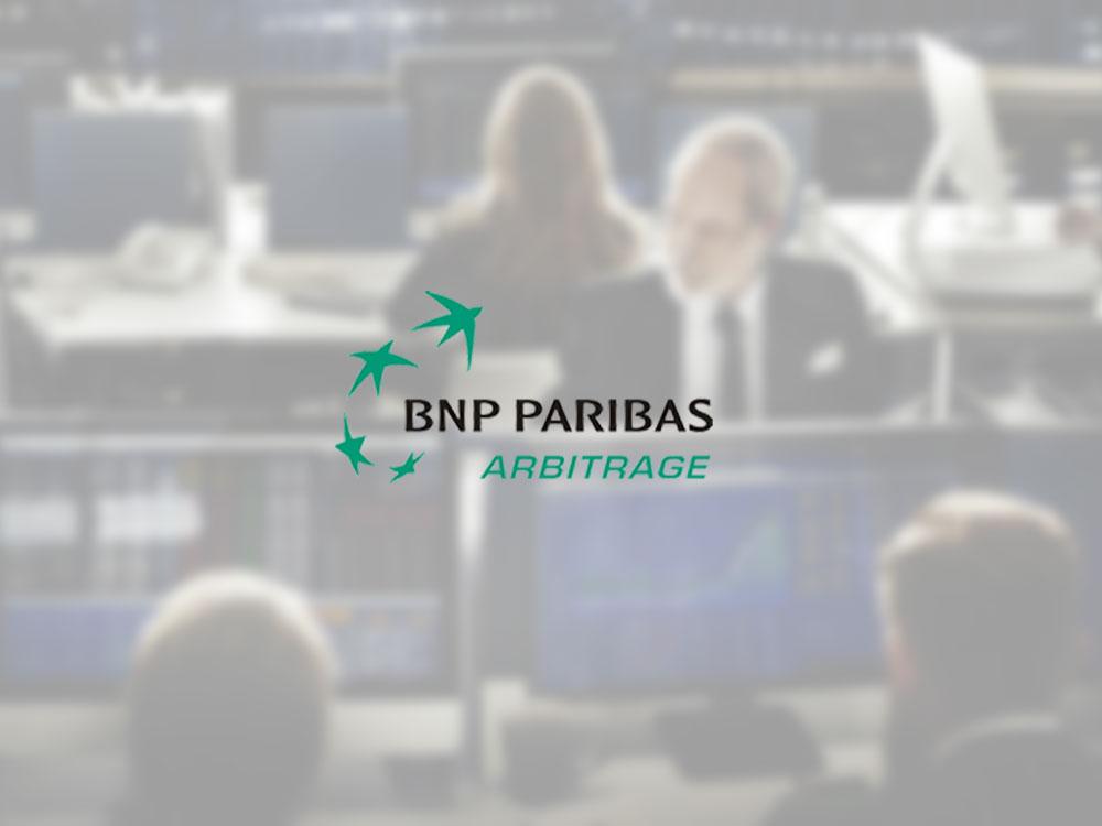 BNP PARIBAS Salle des marchés
